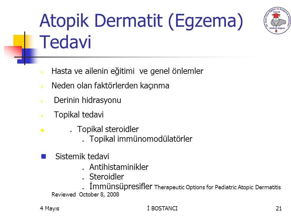 Atopik Dermatit (Egzema) Tedavi