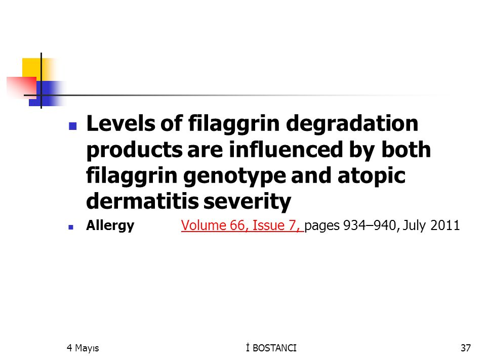 Levels of filaggrin degradation products are influenced by both filaggrin genotype and atopic dermatitis severity