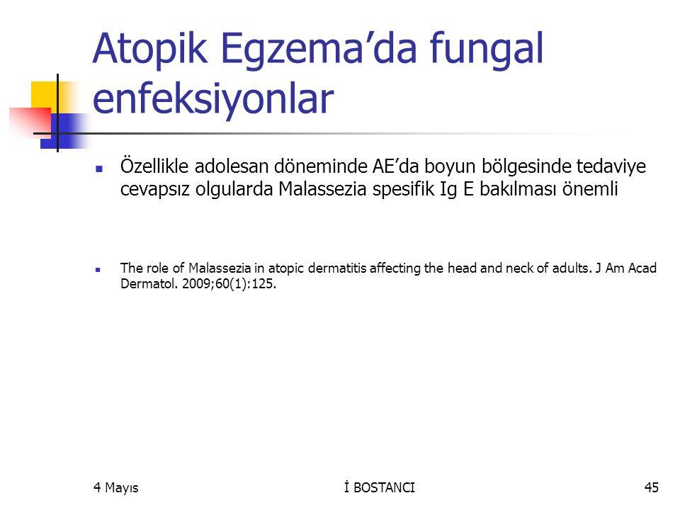 Atopik Egzema'da fungal enfeksiyonlar