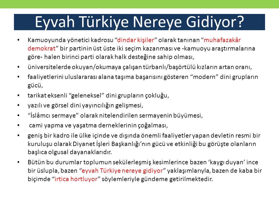 Eyvah Türkiye Nereye Gidiyor