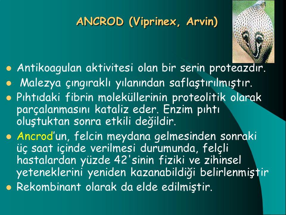 ANCROD (Viprinex, Arvin)