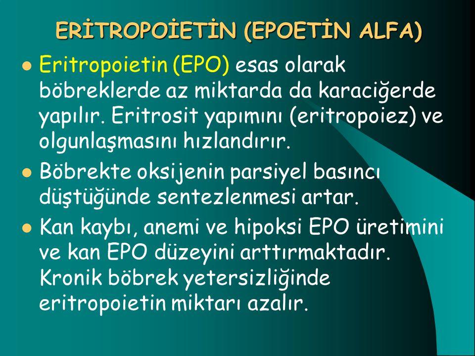ERİTROPOİETİN (EPOETİN ALFA)