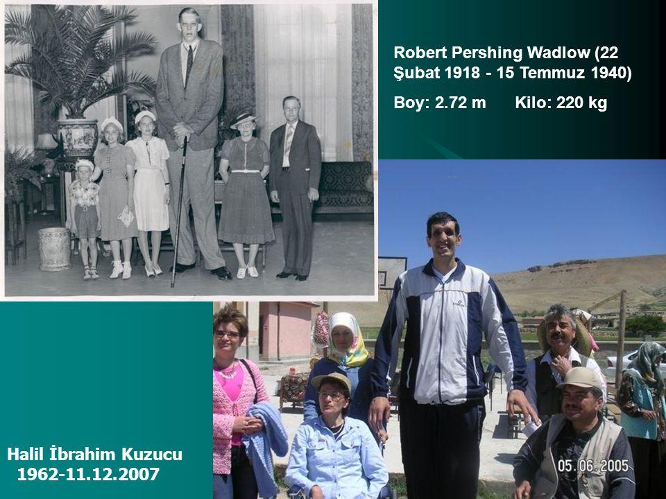 Robert Pershing Wadlow (22 Şubat 1918 - 15 Temmuz 1940)