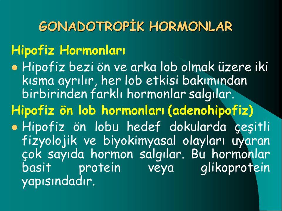 GONADOTROPİK HORMONLAR