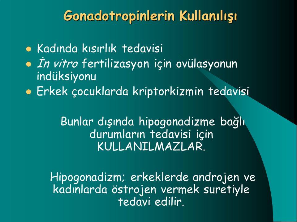 Gonadotropinlerin Kullanılışı