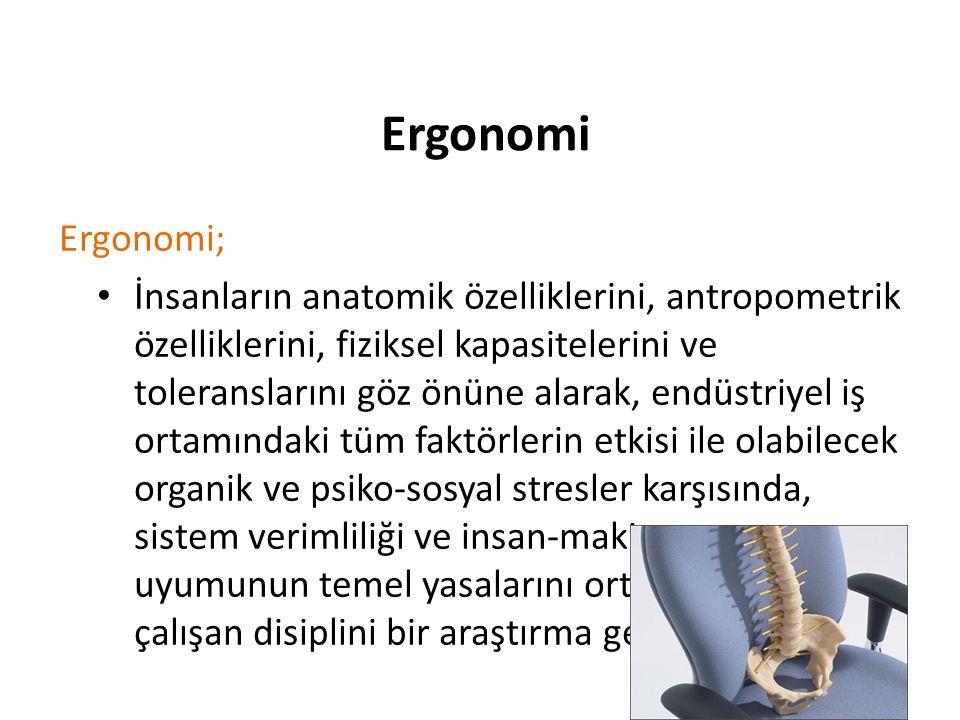 Ergonomi Ergonomi;