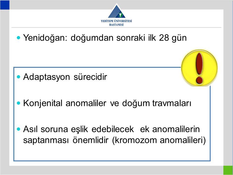 Yenidoğan: doğumdan sonraki ilk 28 gün