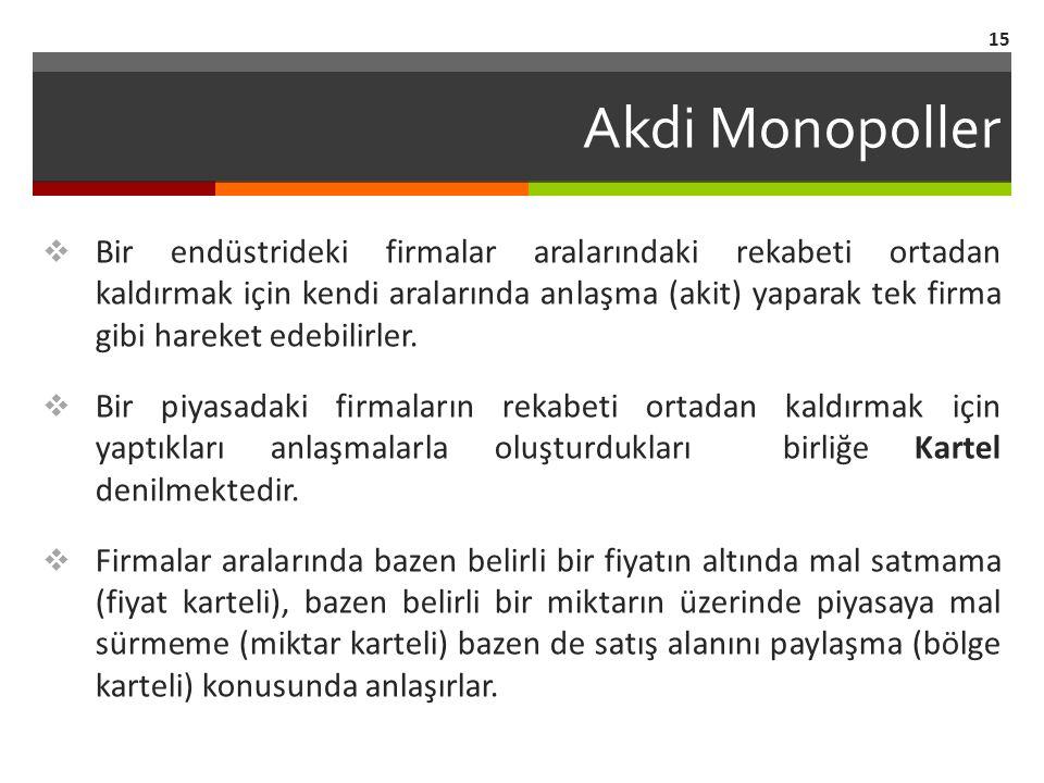 Akdi Monopoller