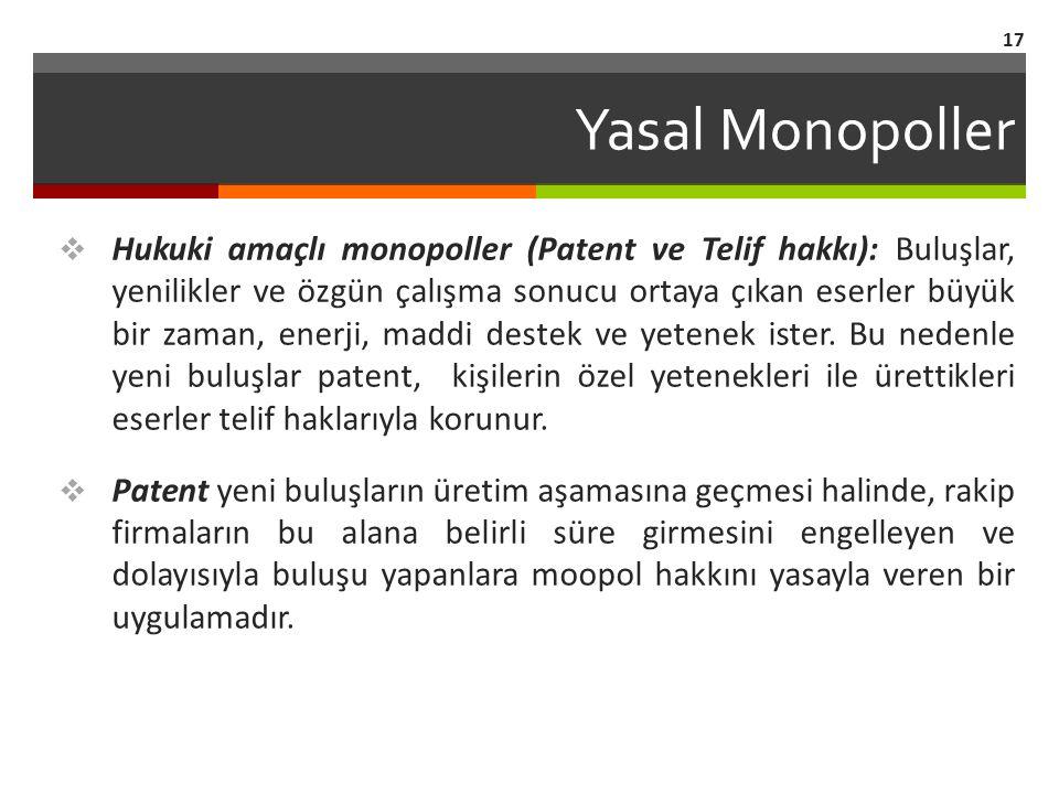 Yasal Monopoller