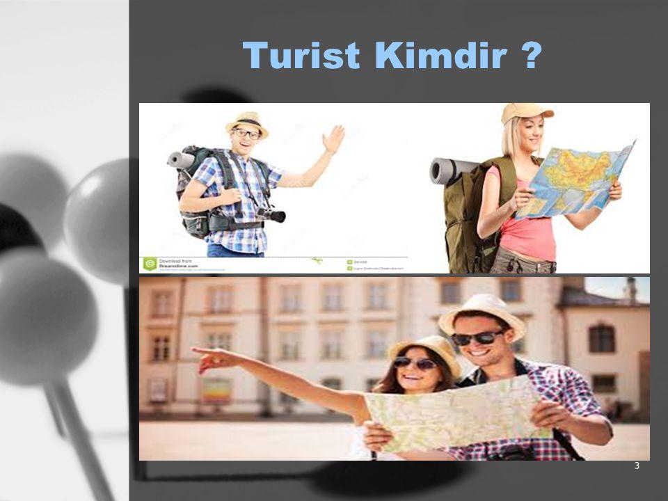 Turist Kimdir