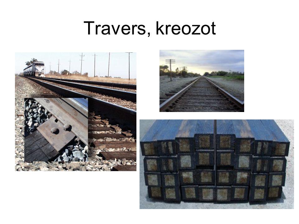Travers, kreozot
