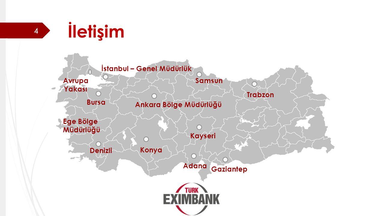İletişim İstanbul – Genel Müdürlük Avrupa Yakası Samsun Trabzon Bursa