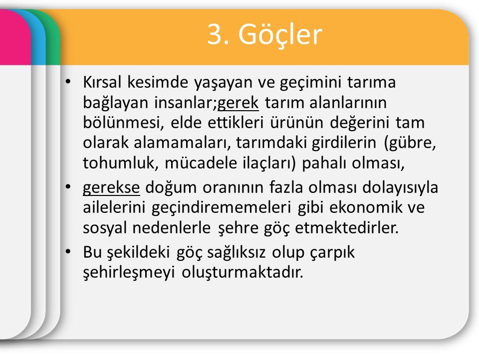 3. Göçler