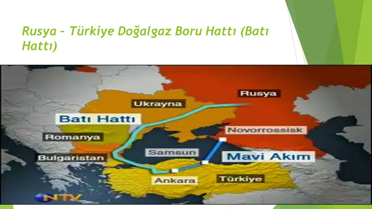 Rusya – Türkiye Doğalgaz Boru Hattı (Batı Hattı)