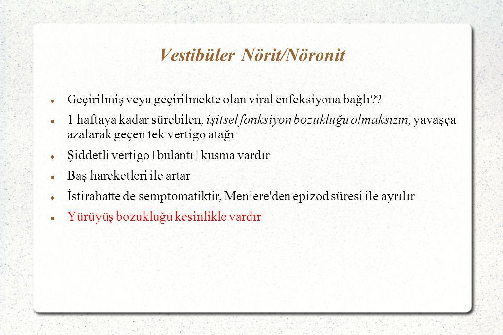 Vestibüler Nörit/Nöronit