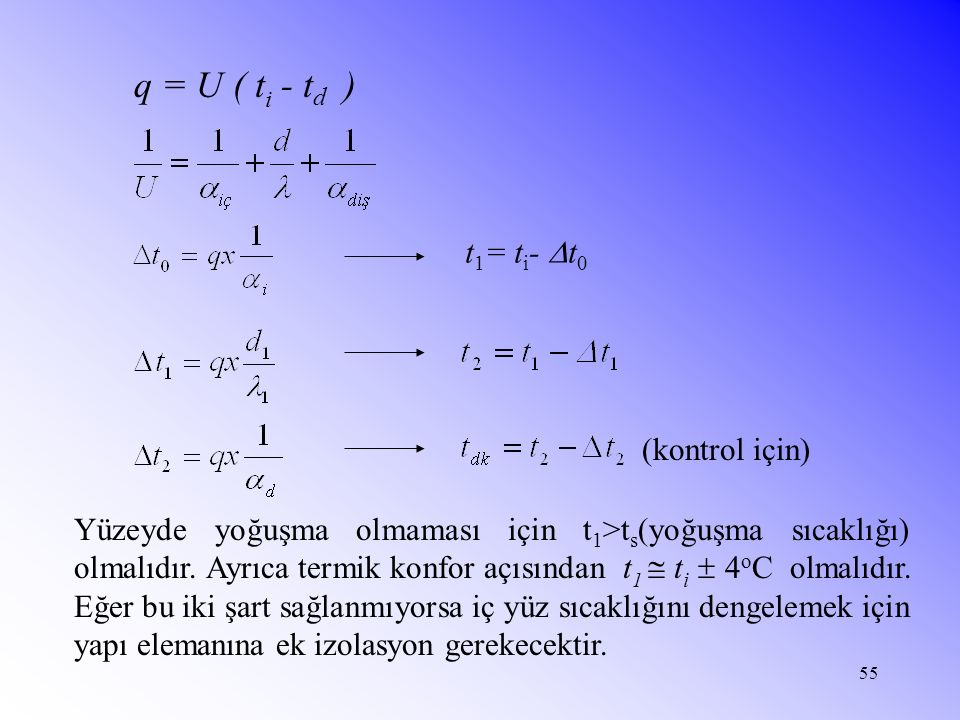 t1= ti- t0 (kontrol için)