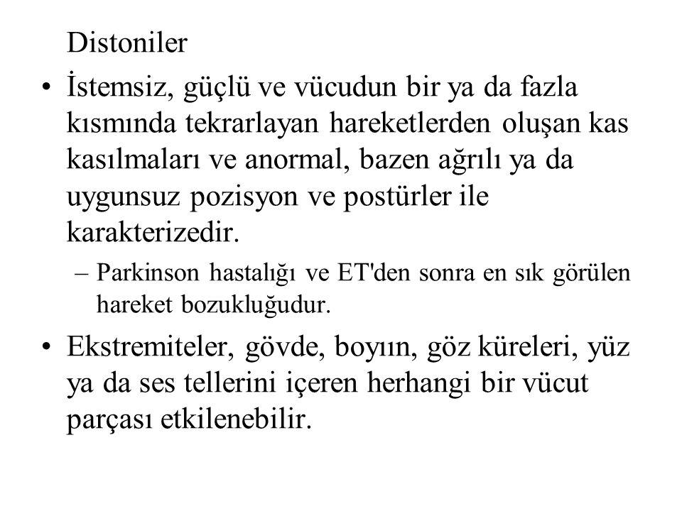 Distoniler