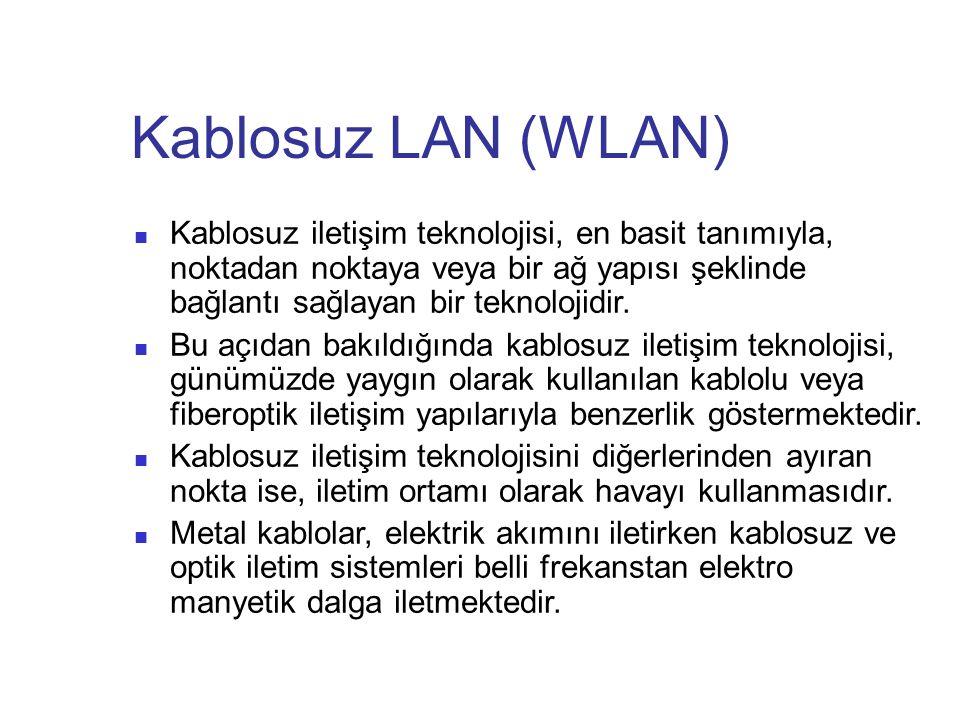 Kablosuz LAN (WLAN)