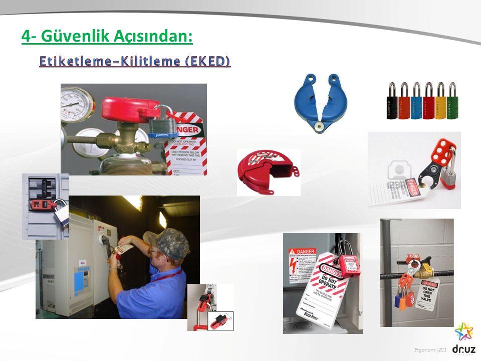 4- Güvenlik Açısından: Etiketleme-Kilitleme (EKED)