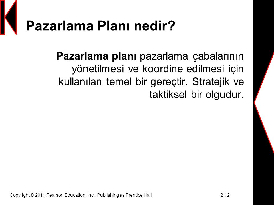 Pazarlama Planı nedir