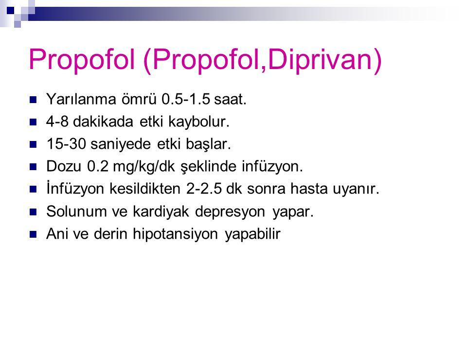 Propofol (Propofol,Diprivan)