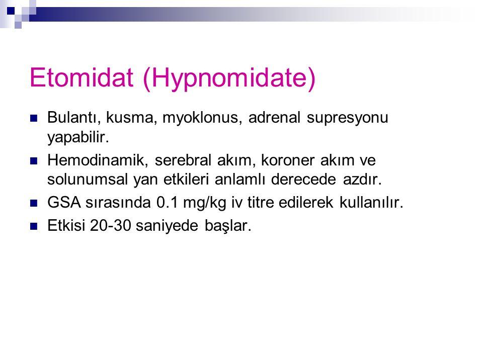Etomidat (Hypnomidate)
