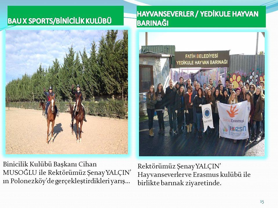 BAU X SPORTS/BİNİCİLİK KULÜBÜ
