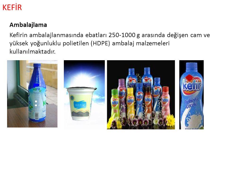KEFİR Ambalajlama