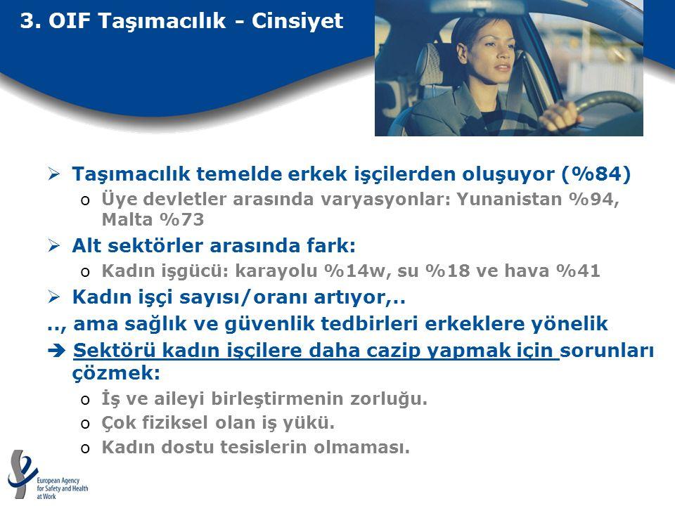 3. OIF Taşımacılık - Cinsiyet