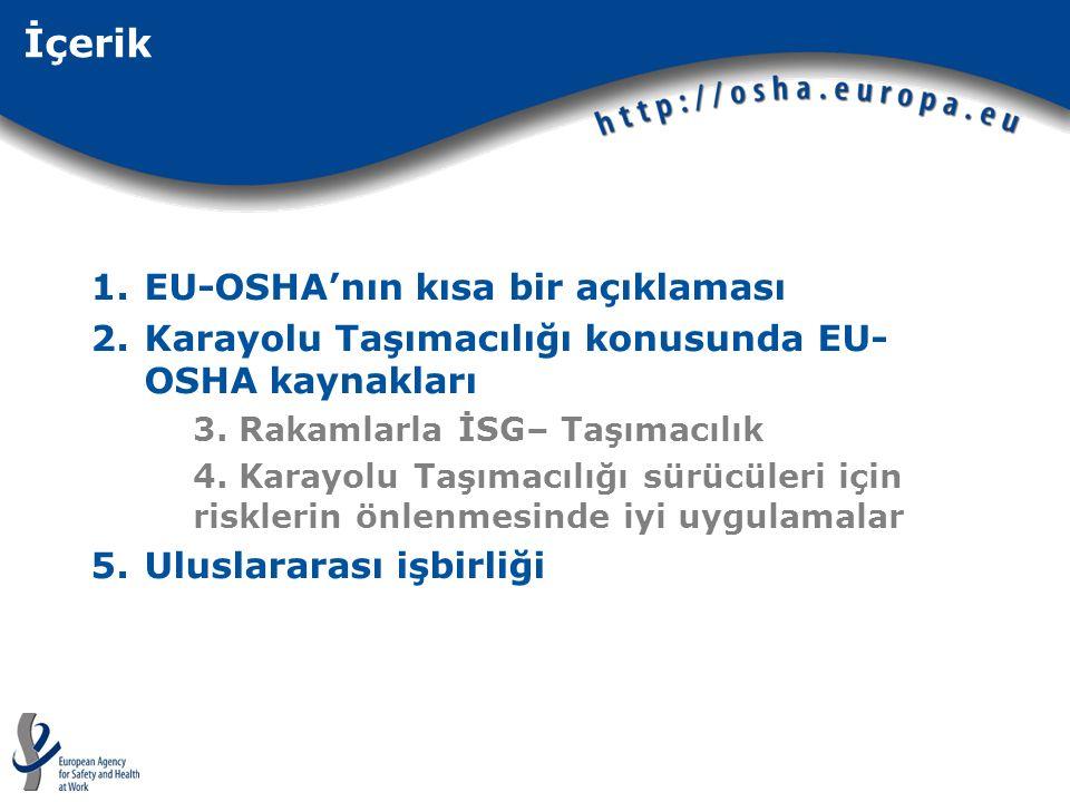 İçerik EU-OSHA'nın kısa bir açıklaması