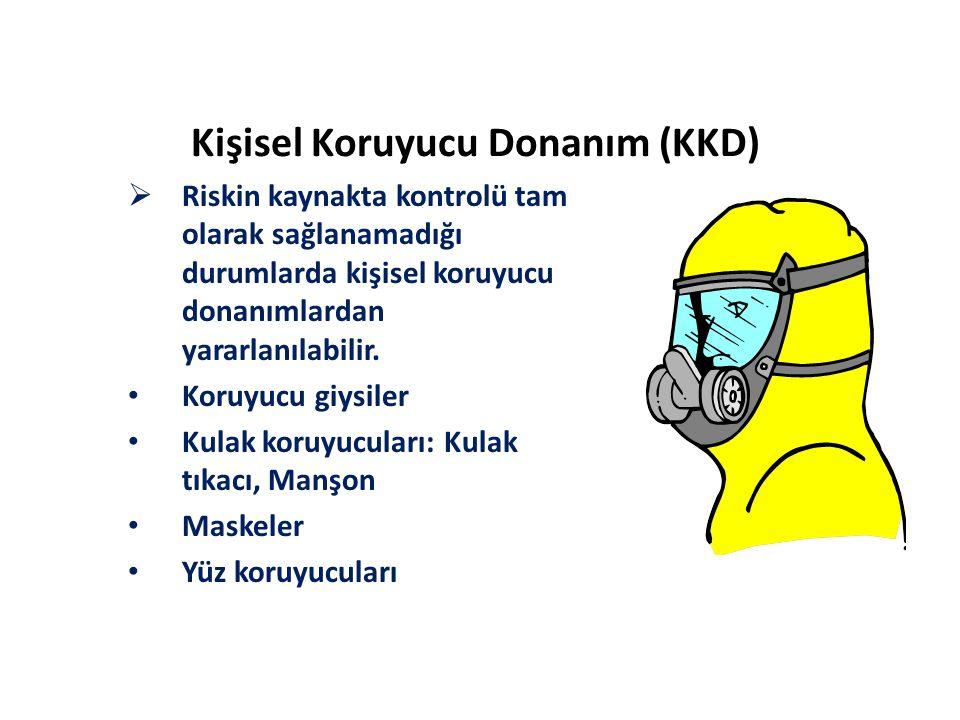Kişisel Koruyucu Donanım (KKD)