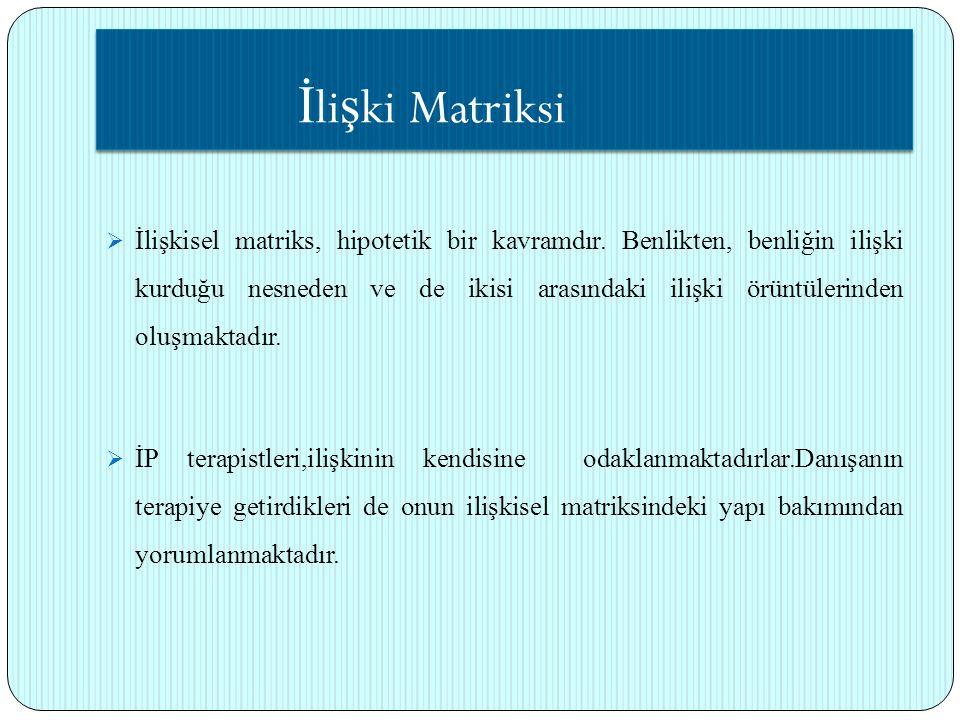 İlişki Matriksi