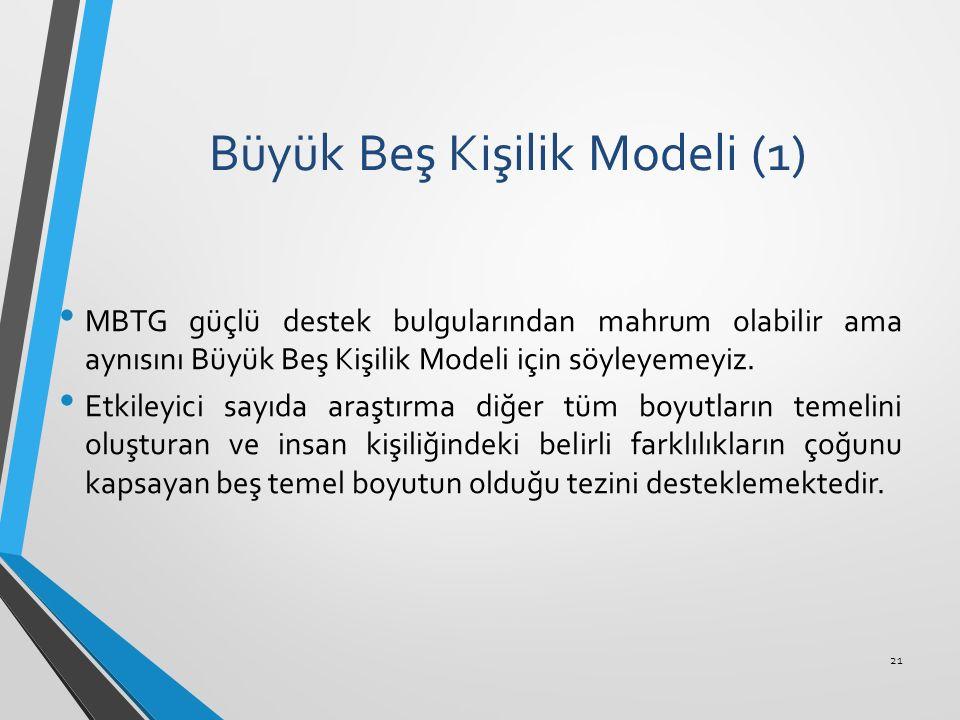 Büyük Beş Kişilik Modeli (1)