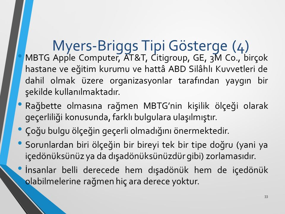 Myers-Briggs Tipi Gösterge (4)