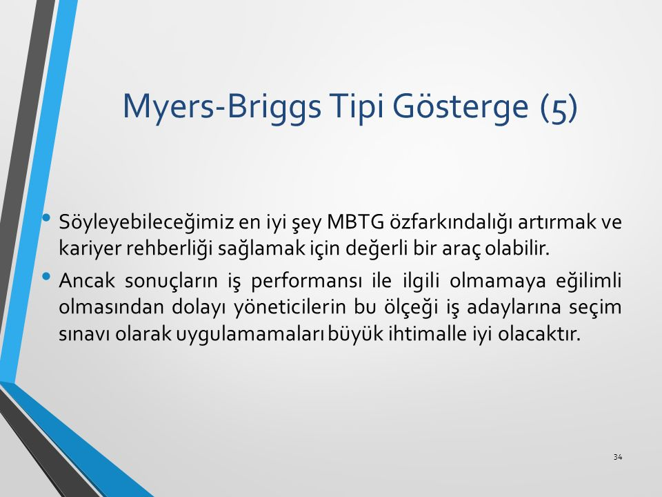 Myers-Briggs Tipi Gösterge (5)