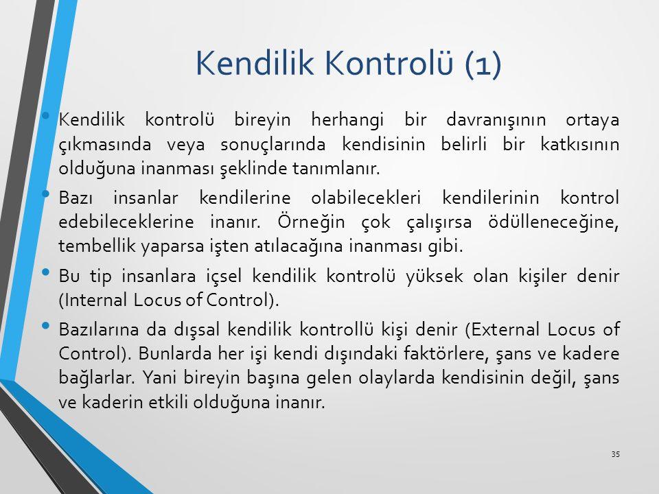Kendilik Kontrolü (1)