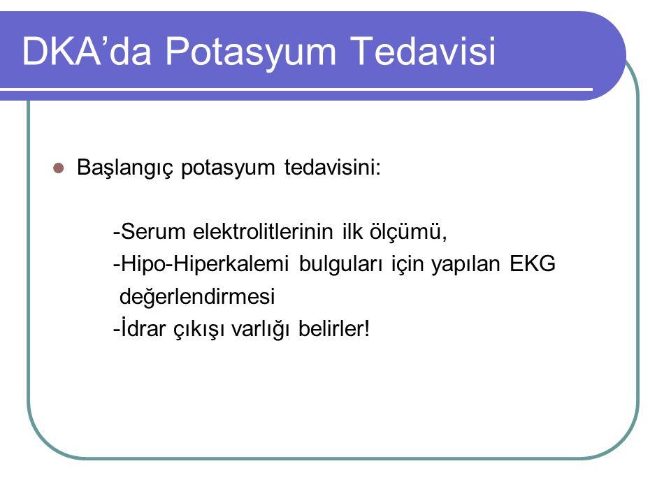 DKA'da Potasyum Tedavisi