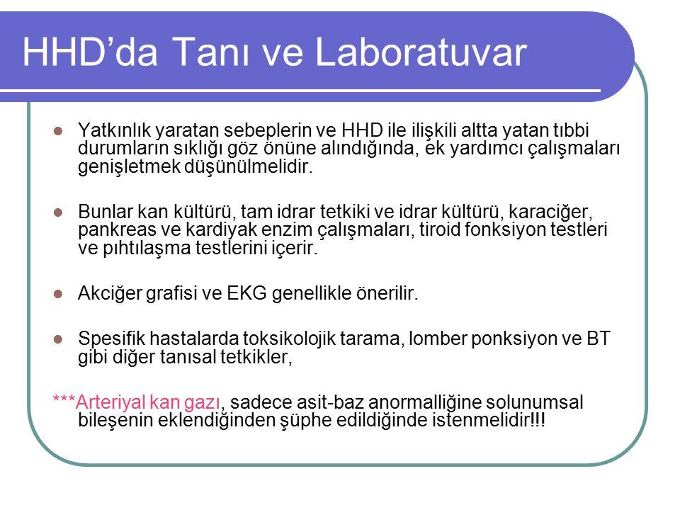 HHD'da Tanı ve Laboratuvar