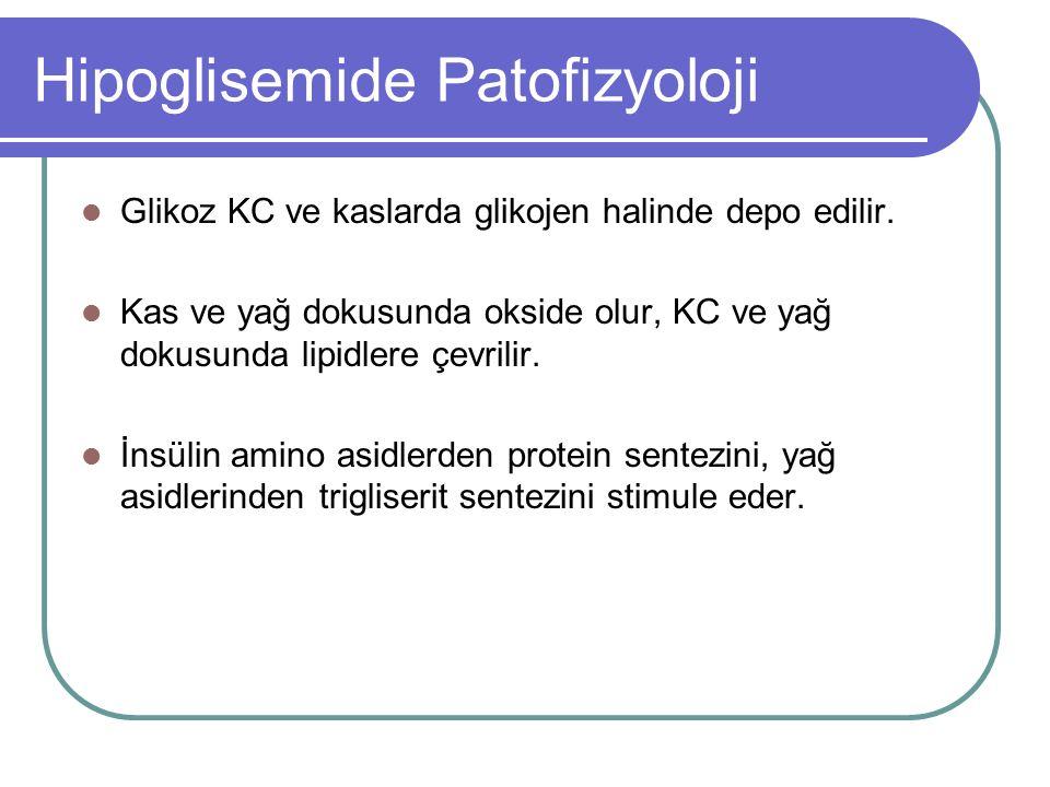 Hipoglisemide Patofizyoloji