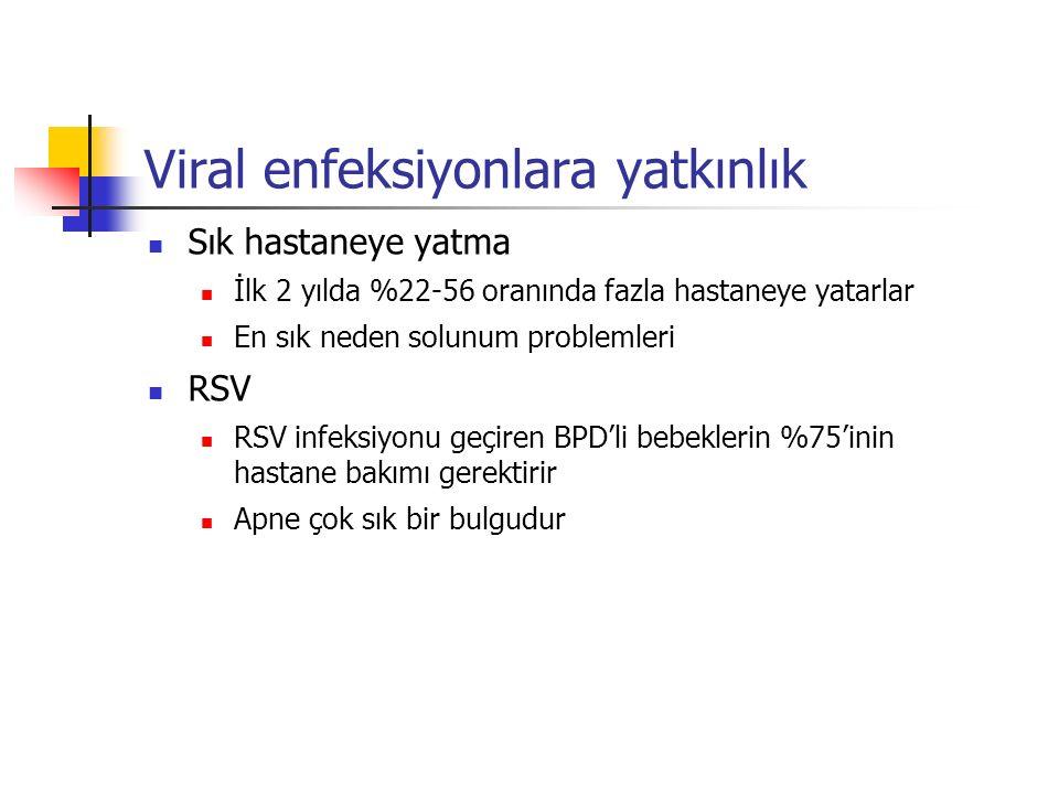 Viral enfeksiyonlara yatkınlık