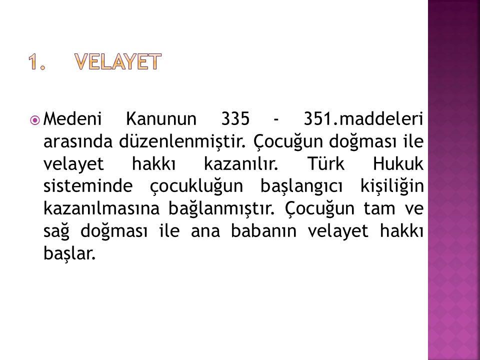 1. VELAYET