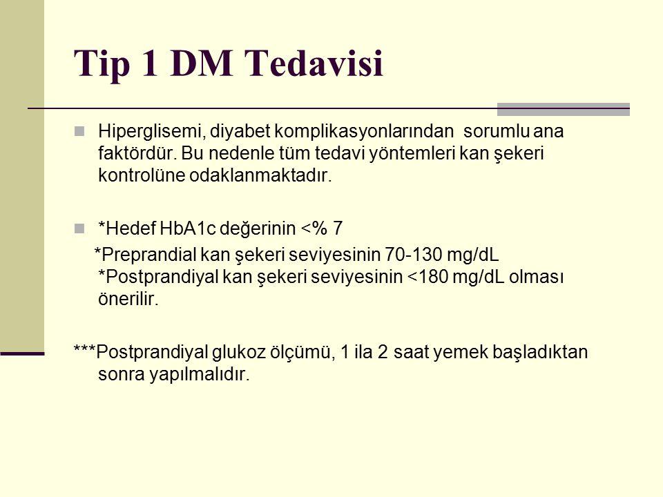 Tip 1 DM Tedavisi