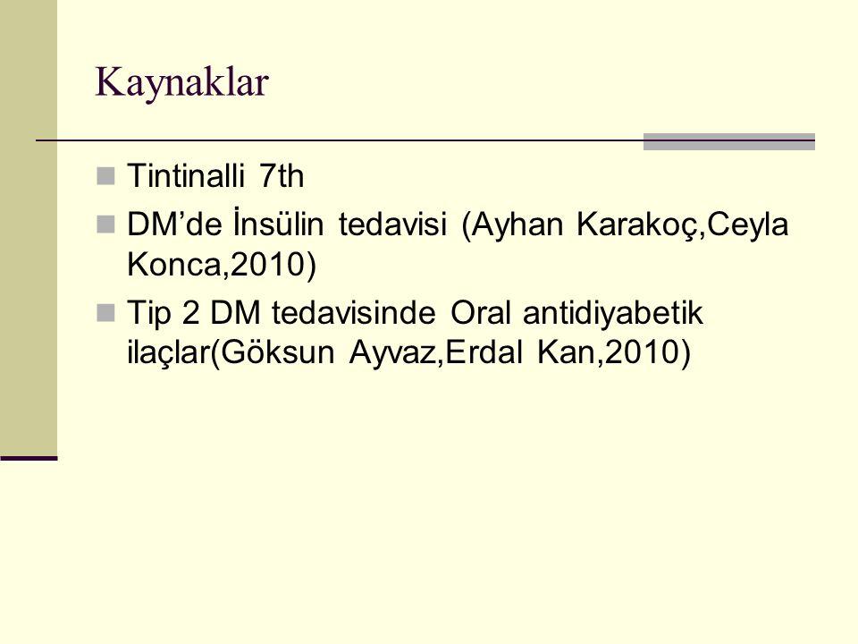 Kaynaklar Tintinalli 7th