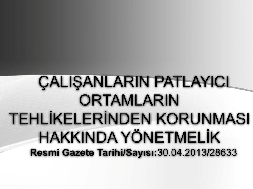 Resmi Gazete Tarihi/Sayısı:30.04.2013/28633