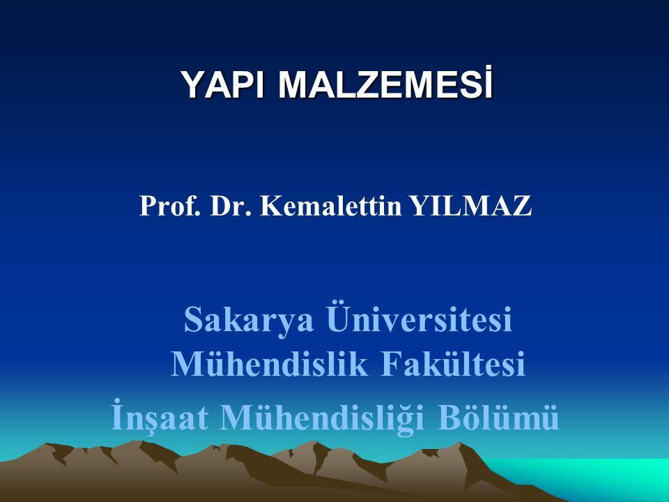 Sakarya Üniversitesi Mühendislik Fakültesi İnşaat Mühendisliği Bölümü