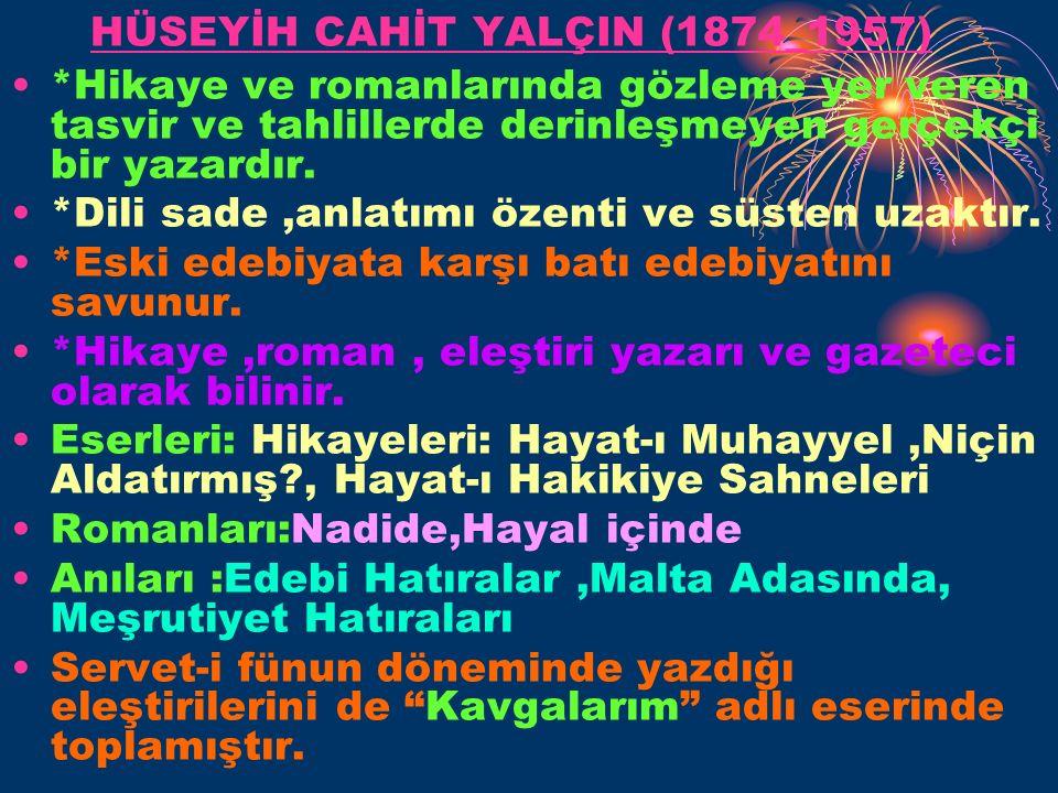 HÜSEYİH CAHİT YALÇIN (1874_1957)