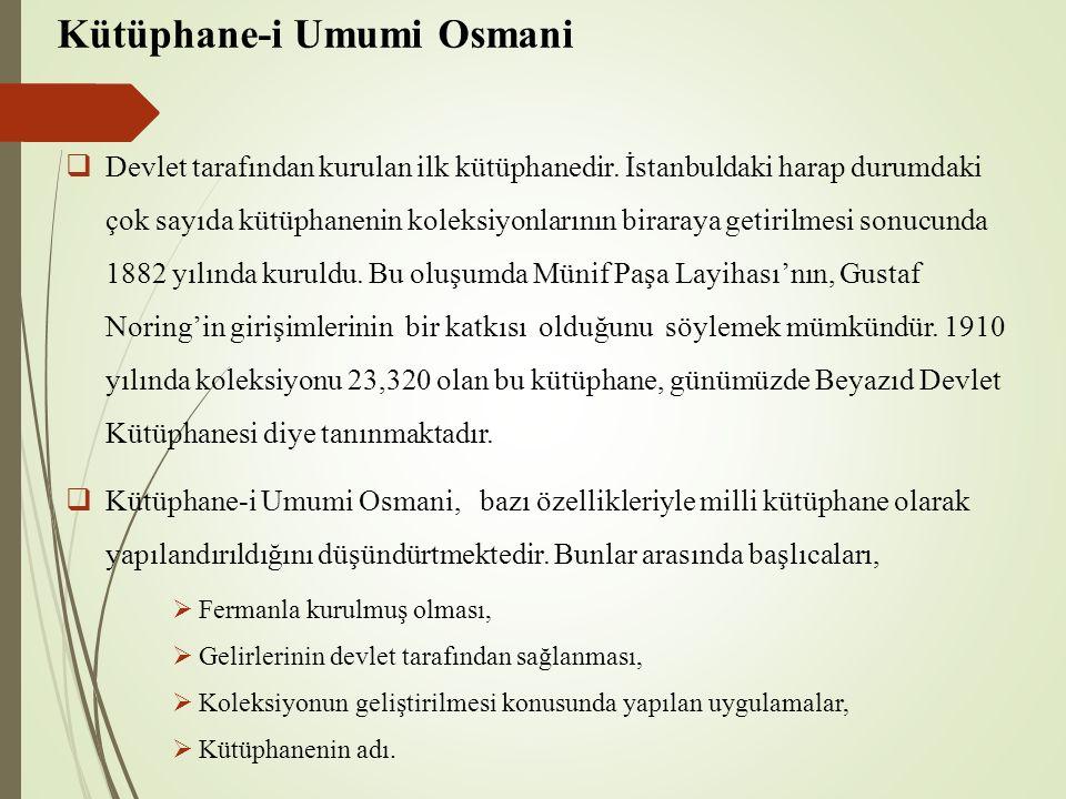 Kütüphane-i Umumi Osmani