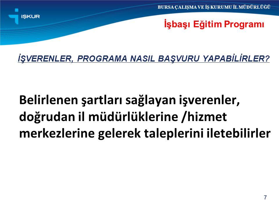 İŞVERENLER, PROGRAMA NASIL BAŞVURU YAPABİLİRLER