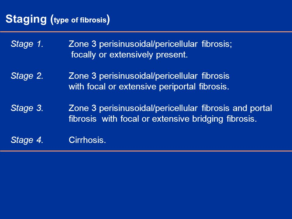 Staging (type of fibrosis)
