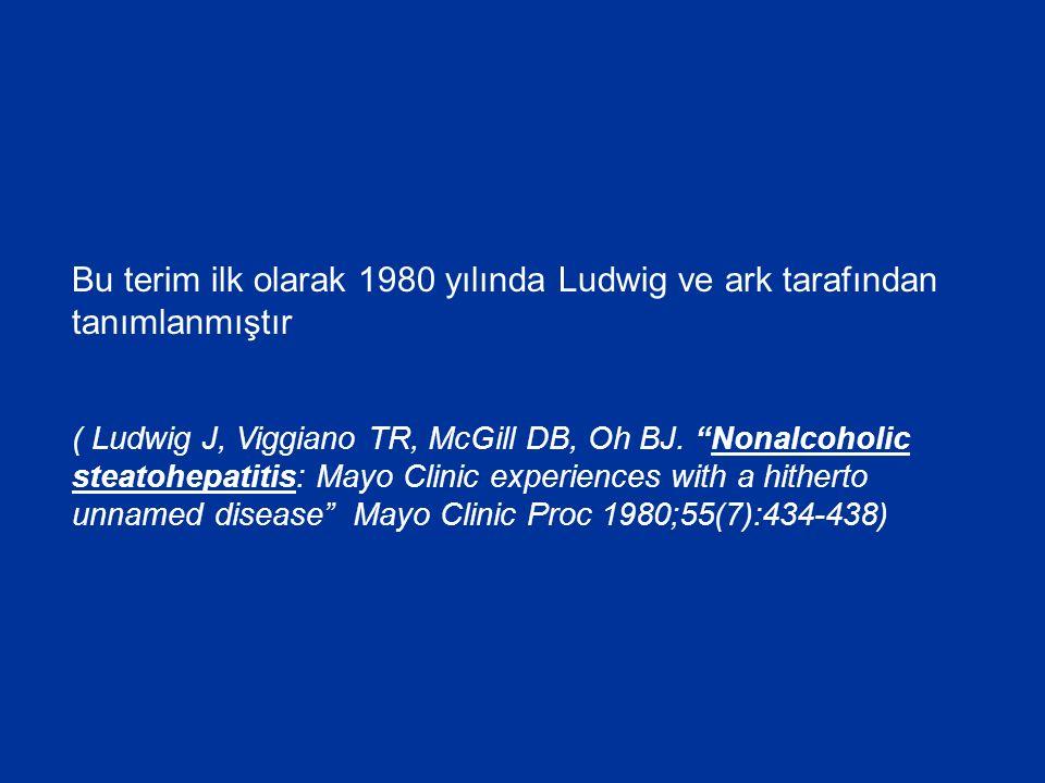 Bu terim ilk olarak 1980 yılında Ludwig ve ark tarafından tanımlanmıştır